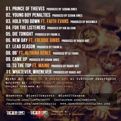 Jewlry Tracklist