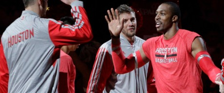 Dwight Howard,Chandler Parsons