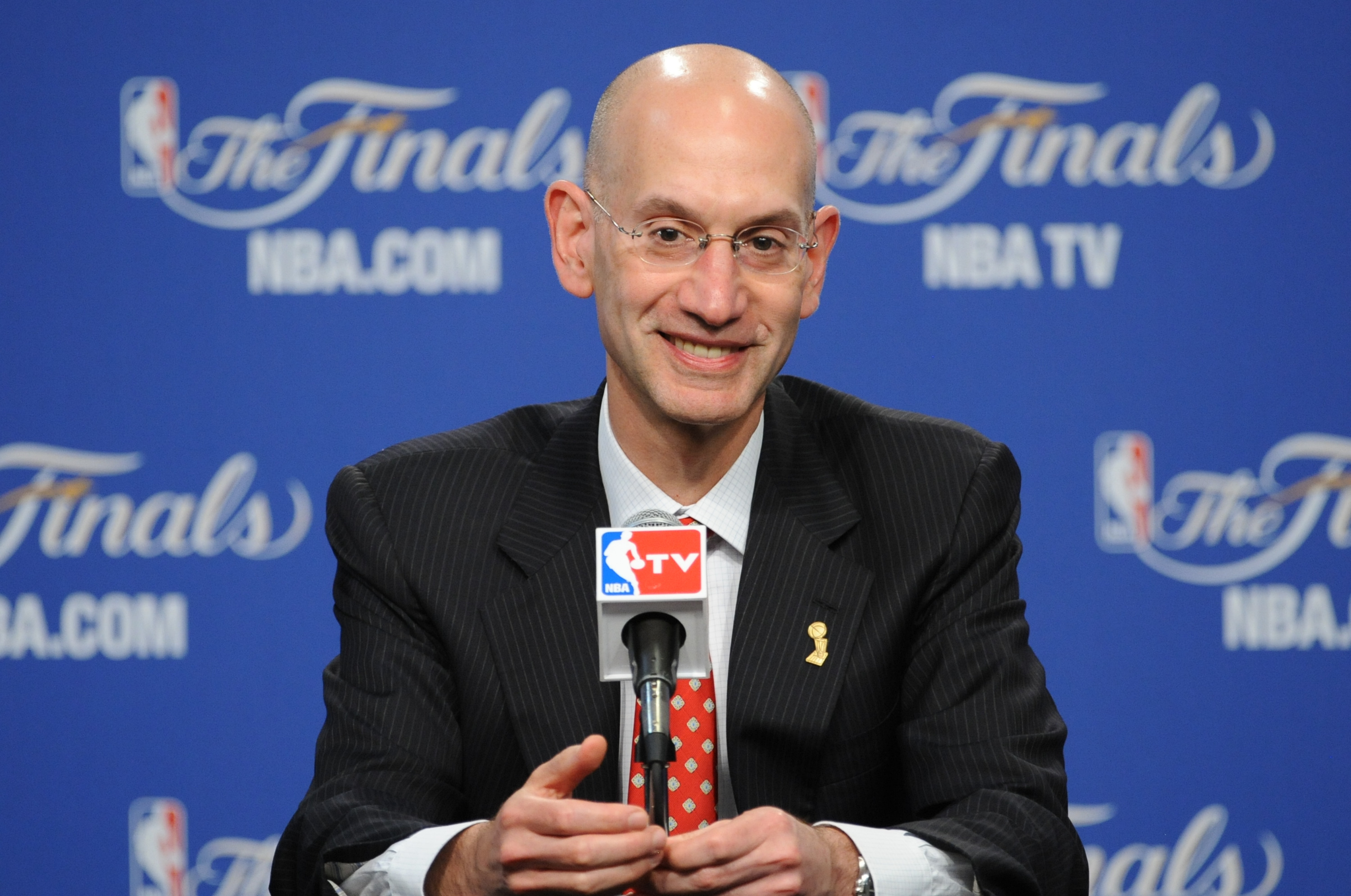 Adam Silver NBA basketball