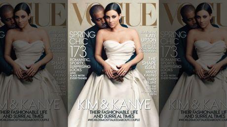 kim kardashian vogue cover handout kanye west