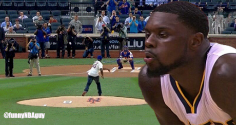 Lance blowing 50 Cent's pitch sideways
