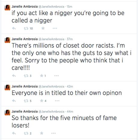 Racists tweets
