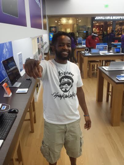 Zulu Faz @ Microsoft Store; Djsdoingwork.com